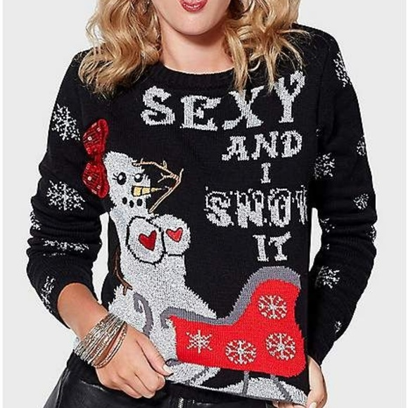 Ugly Christmas Sweater Light up from Spencers NWT